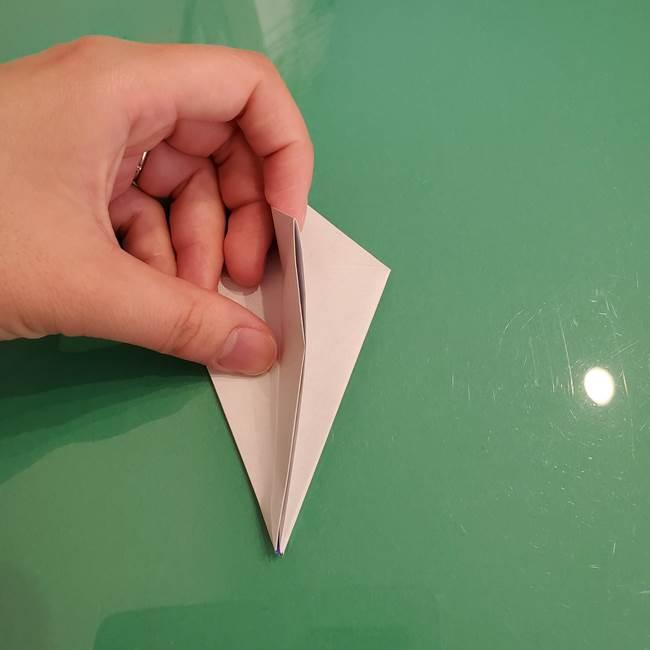 ザシアンの折り紙の折り方★顔パーツ①(22)