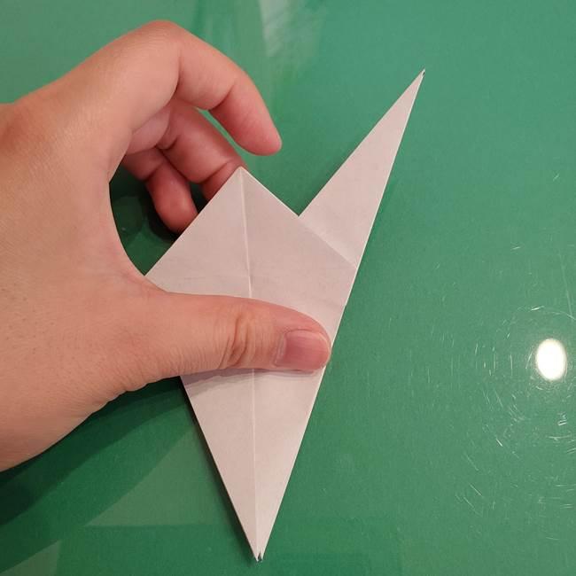ザシアンの折り紙の折り方★顔パーツ①(24)