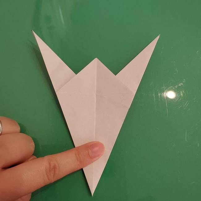 ザシアンの折り紙の折り方★顔パーツ①(25)