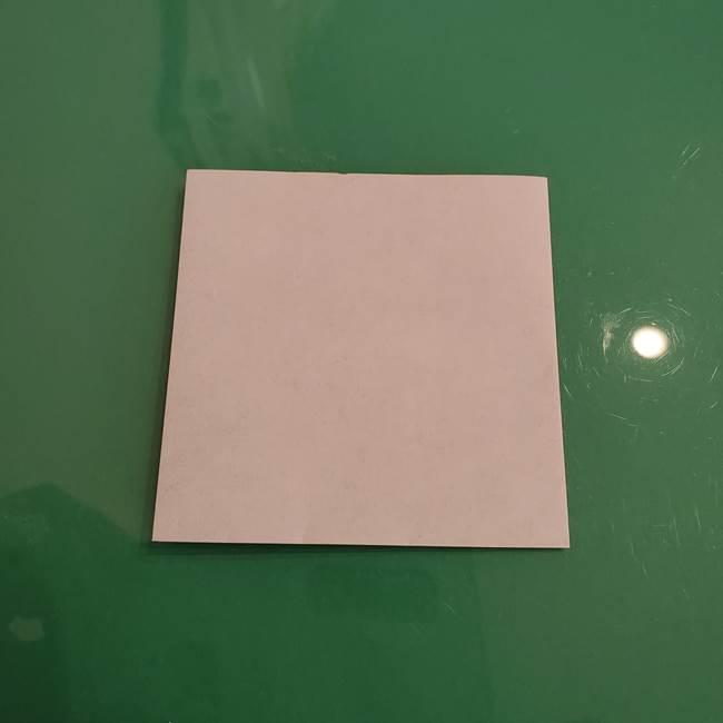 ザシアンの折り紙の折り方★顔パーツ①(3)