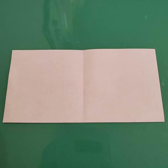 ザシアンの折り紙の折り方★顔パーツ①(4)