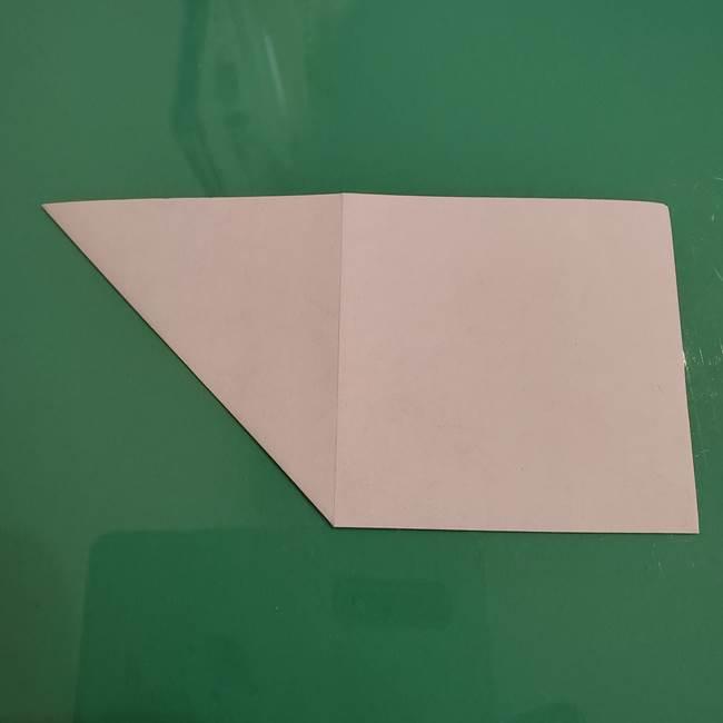 ザシアンの折り紙の折り方★顔パーツ①(6)