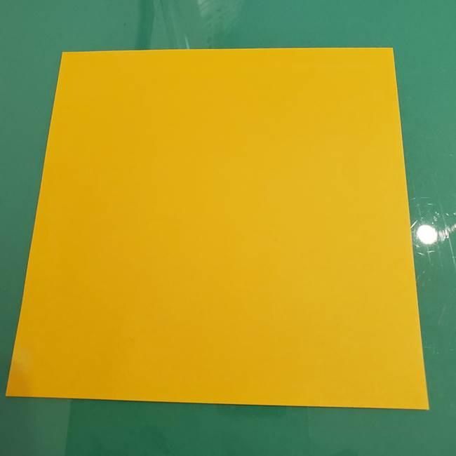 ザシアンの折り紙の折り方★顔パーツ②(1)