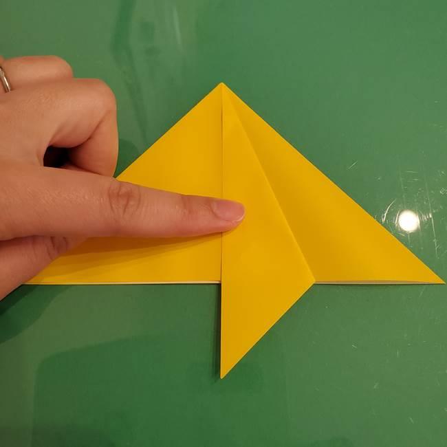 ザシアンの折り紙の折り方★顔パーツ②(11)
