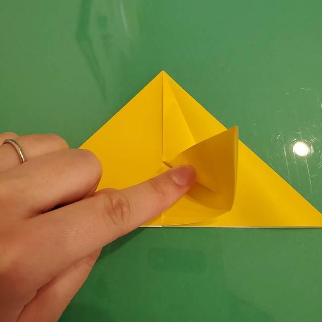 ザシアンの折り紙の折り方★顔パーツ②(12)