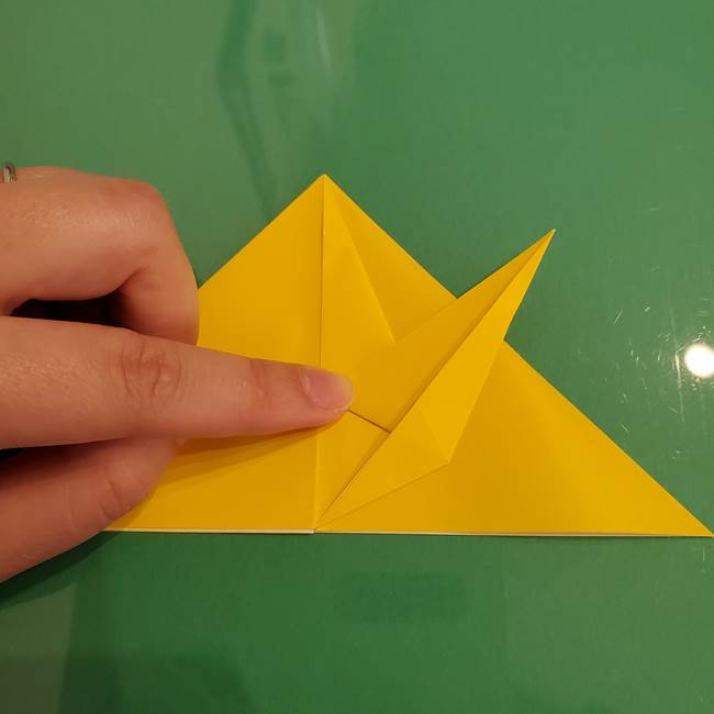 ザシアンの折り紙の折り方★顔パーツ②(13)