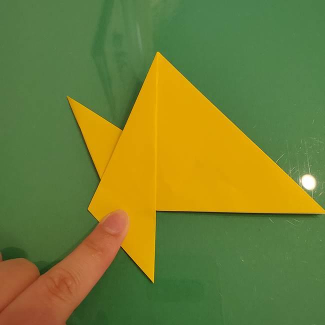 ザシアンの折り紙の折り方★顔パーツ②(15)