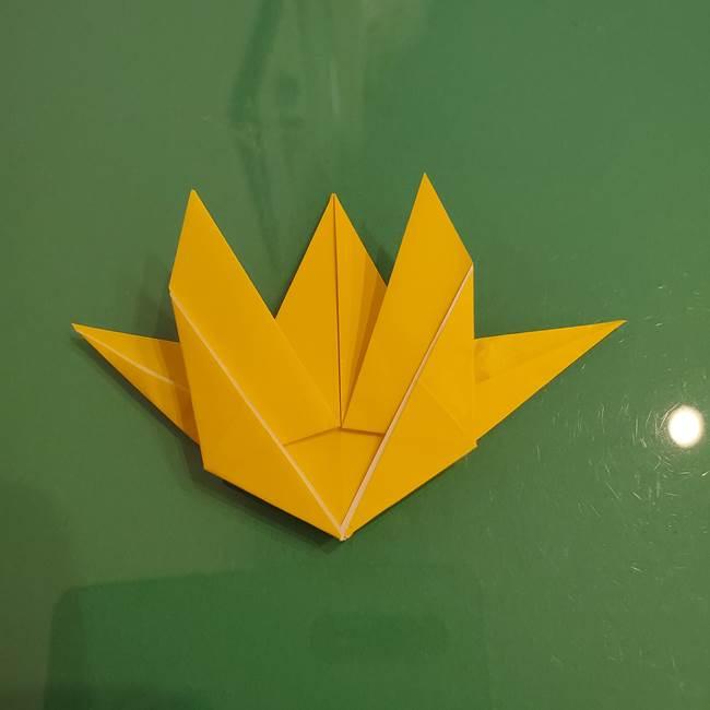 ザシアンの折り紙の折り方★顔パーツ②(28)
