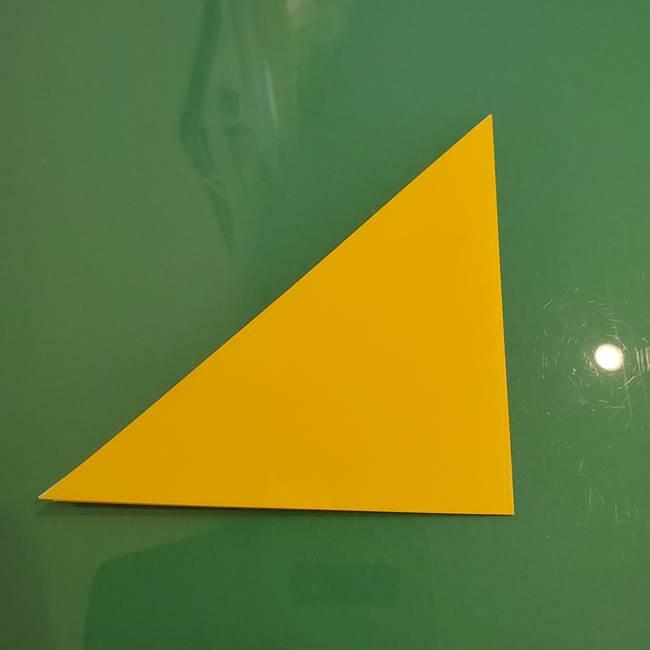 ザシアンの折り紙の折り方★顔パーツ②(3)