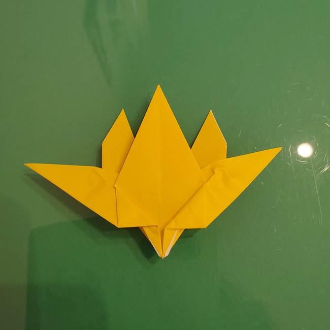 ザシアンの折り紙の折り方★顔パーツ②(30)
