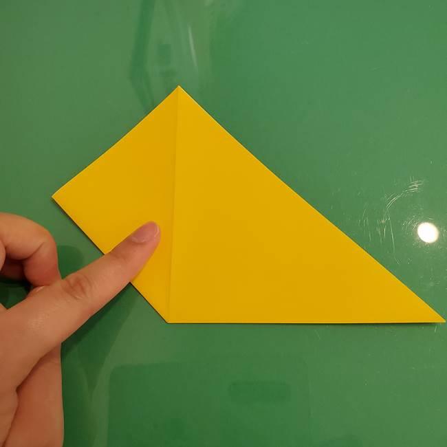 ザシアンの折り紙の折り方★顔パーツ②(6)