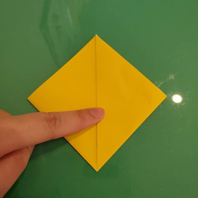 ザシアンの折り紙の折り方★顔パーツ②(7)