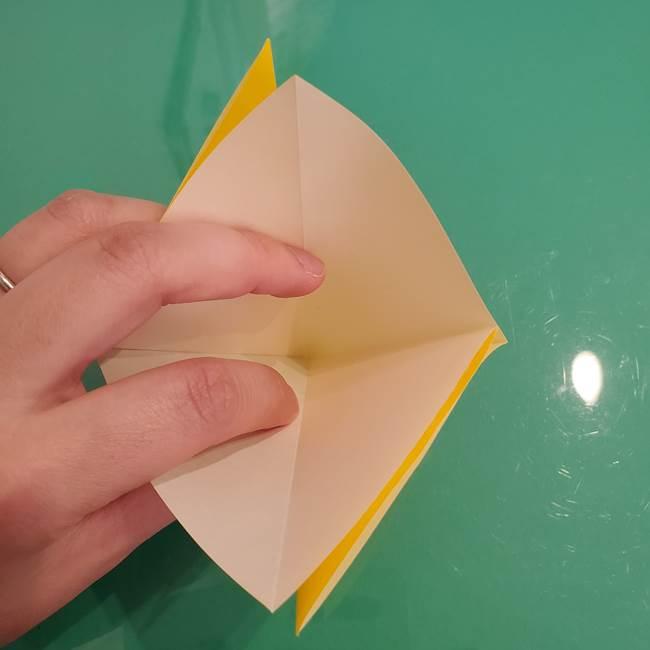 ザシアンの折り紙の折り方★顔パーツ②(8)