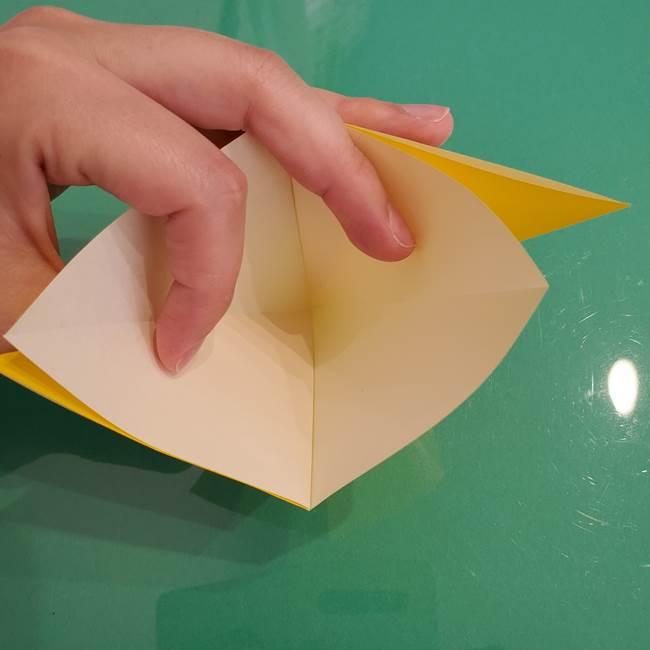 ザシアンの折り紙の折り方★顔パーツ②(9)