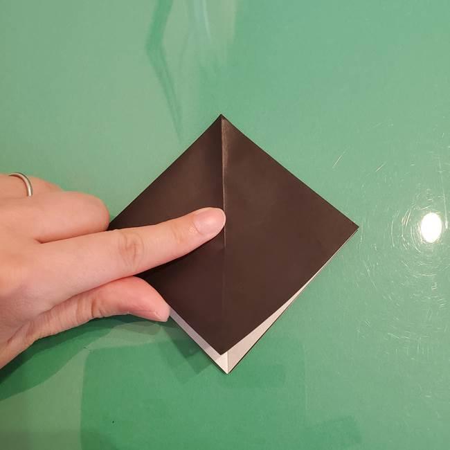 ザルードの折り紙☆ポケモンの折り方作り方①折り方(10)