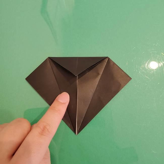 ザルードの折り紙☆ポケモンの折り方作り方①折り方(12)