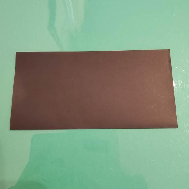 ザルードの折り紙☆ポケモンの折り方作り方①折り方(2)