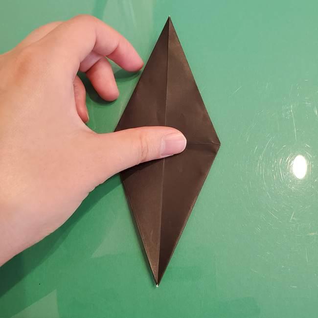 ザルードの折り紙☆ポケモンの折り方作り方①折り方(20)