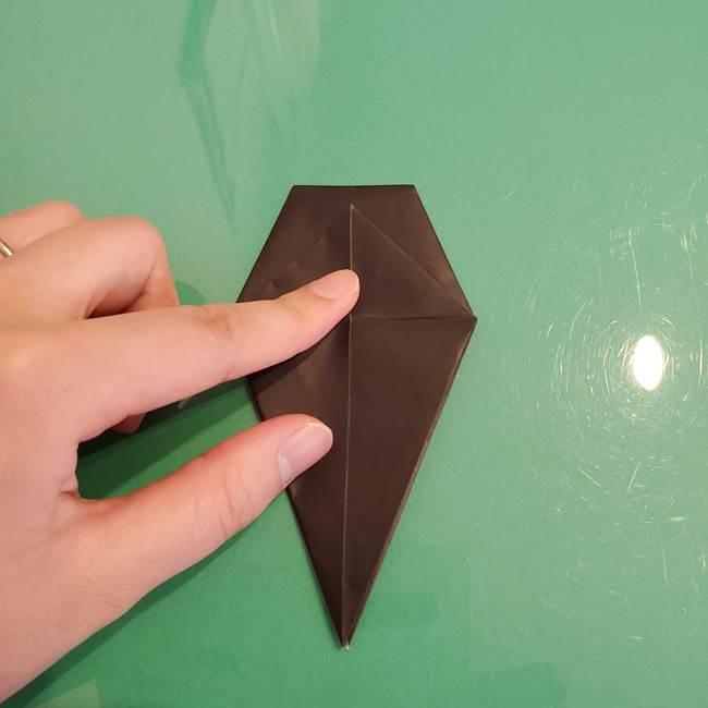 ザルードの折り紙☆ポケモンの折り方作り方①折り方(22)