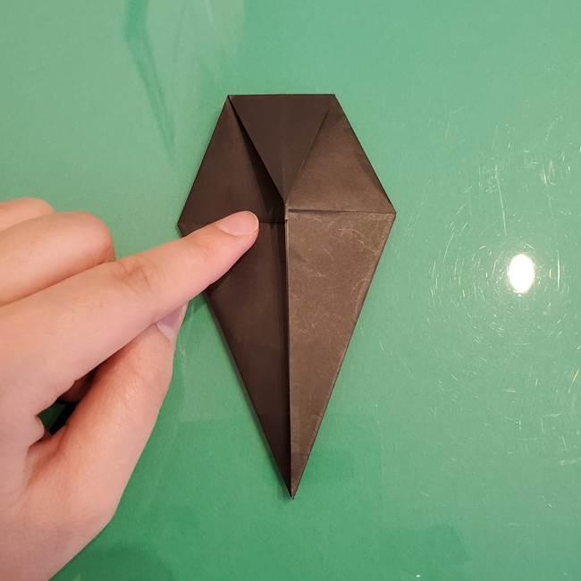 ザルードの折り紙☆ポケモンの折り方作り方①折り方(23)