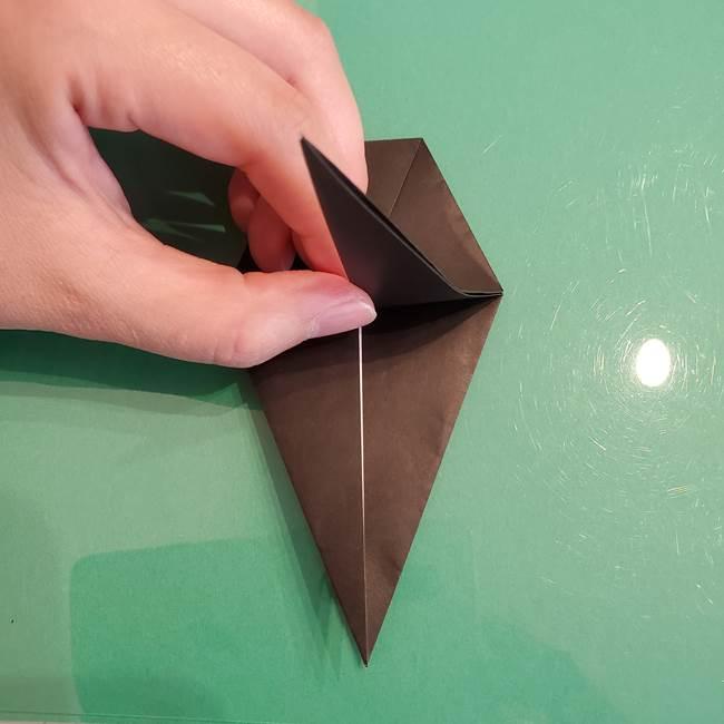ザルードの折り紙☆ポケモンの折り方作り方①折り方(24)