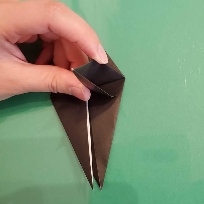 ザルードの折り紙☆ポケモンの折り方作り方①折り方(25)