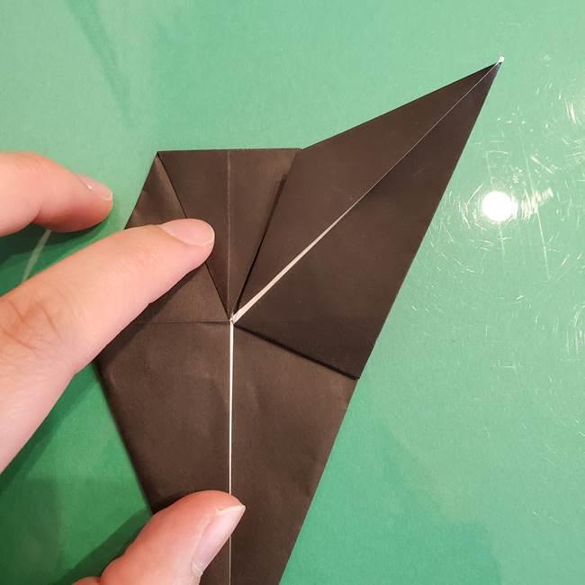 ザルードの折り紙☆ポケモンの折り方作り方①折り方(26)