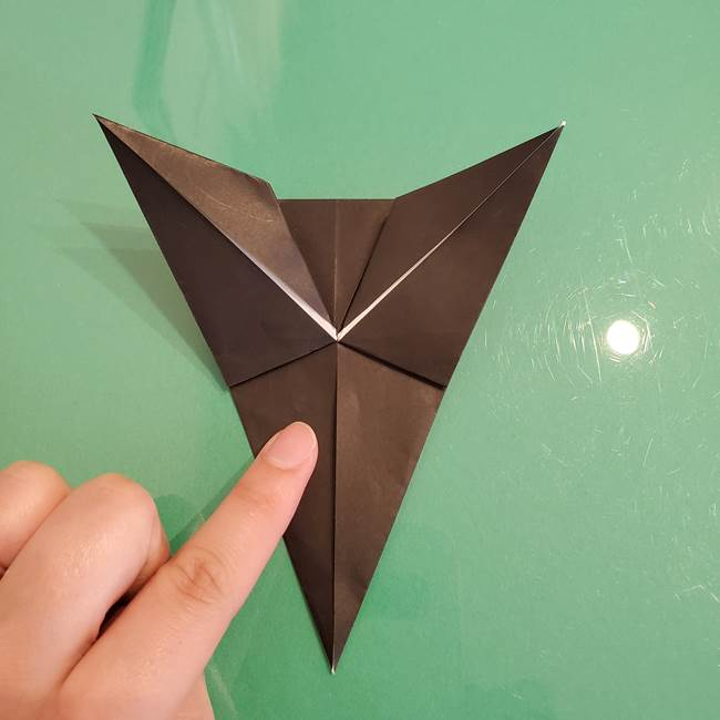 ザルードの折り紙☆ポケモンの折り方作り方①折り方(27)
