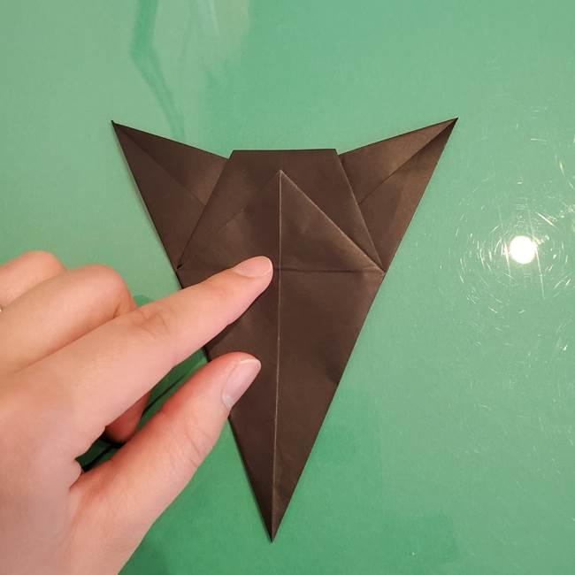 ザルードの折り紙☆ポケモンの折り方作り方①折り方(28)