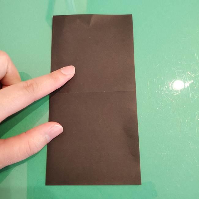 ザルードの折り紙☆ポケモンの折り方作り方①折り方(3)