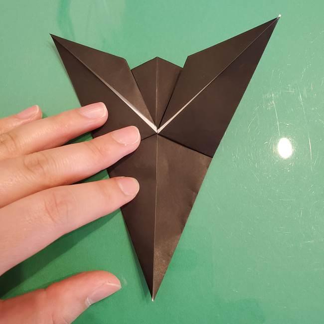 ザルードの折り紙☆ポケモンの折り方作り方①折り方(30)