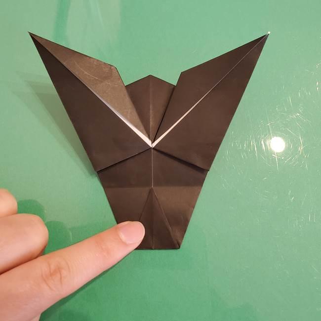 ザルードの折り紙☆ポケモンの折り方作り方①折り方(33)