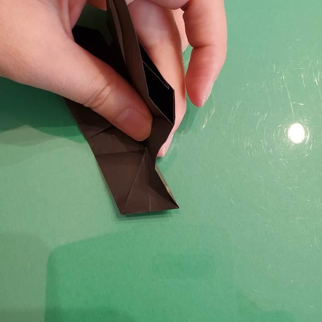 ザルードの折り紙☆ポケモンの折り方作り方①折り方(34)