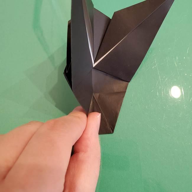 ザルードの折り紙☆ポケモンの折り方作り方①折り方(35)