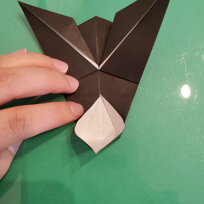 ザルードの折り紙☆ポケモンの折り方作り方①折り方(37)