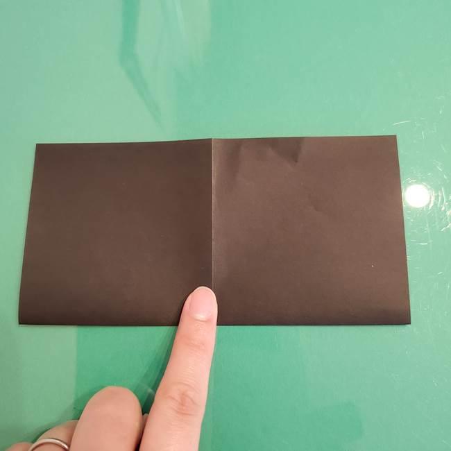 ザルードの折り紙☆ポケモンの折り方作り方①折り方(4)