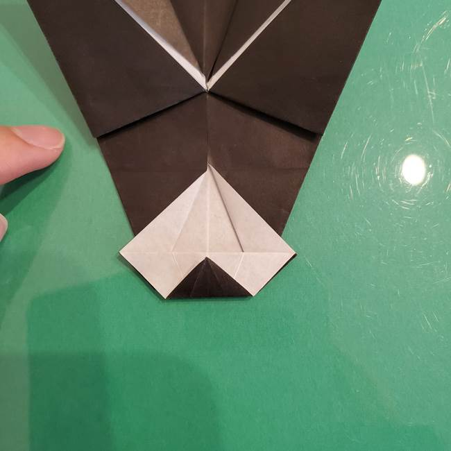 ザルードの折り紙☆ポケモンの折り方作り方①折り方(40)