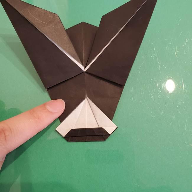 ザルードの折り紙☆ポケモンの折り方作り方①折り方(41)