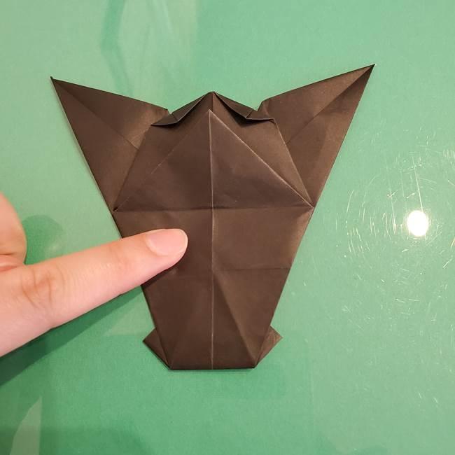 ザルードの折り紙☆ポケモンの折り方作り方①折り方(42)