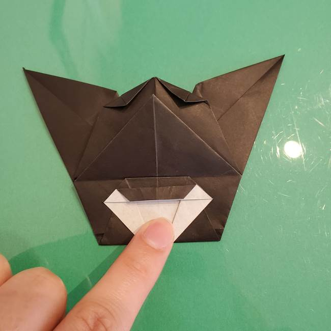 ザルードの折り紙☆ポケモンの折り方作り方①折り方(43)