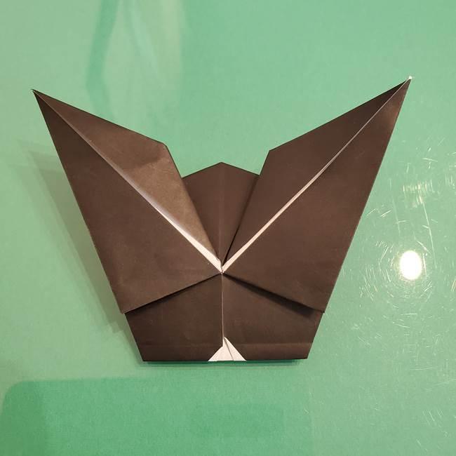 ザルードの折り紙☆ポケモンの折り方作り方①折り方(44)