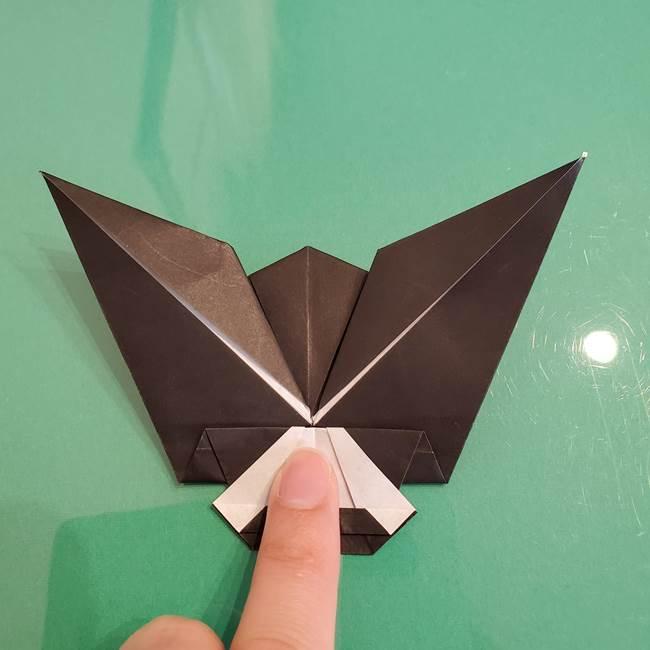 ザルードの折り紙☆ポケモンの折り方作り方①折り方(45)