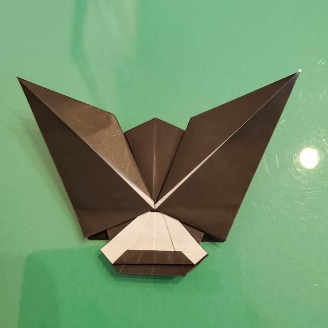 ザルードの折り紙☆ポケモンの折り方作り方①折り方(48)