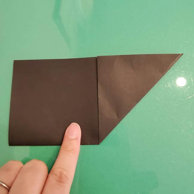 ザルードの折り紙☆ポケモンの折り方作り方①折り方(5)