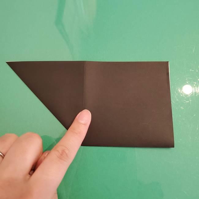 ザルードの折り紙☆ポケモンの折り方作り方①折り方(6)
