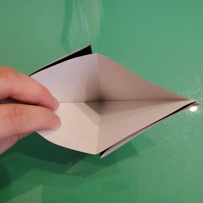 ザルードの折り紙☆ポケモンの折り方作り方①折り方(8)
