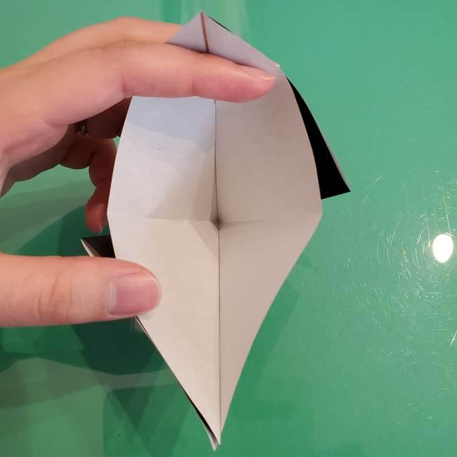 ザルードの折り紙☆ポケモンの折り方作り方①折り方(9)