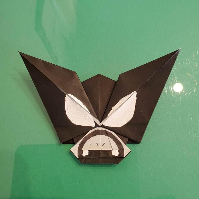 ザルードの折り紙☆ポケモンの折り方作り方②描き方(2)