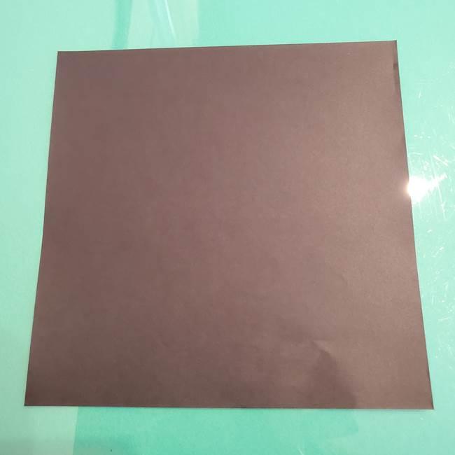 ザルードは折り紙1枚で手作りできるポケモンキャラクター!1