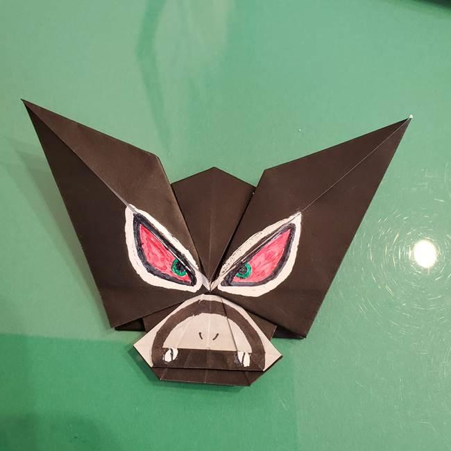ザルードを折り紙1枚で♪ポケモンの折り方作り方は意外とカンタン☆